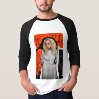 Wees Zwarte | Helena - Gotische Schets T Shirt