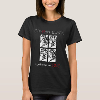 """Wees Zwarte """"samen zijn wij Één"""" T-shirt van de"""