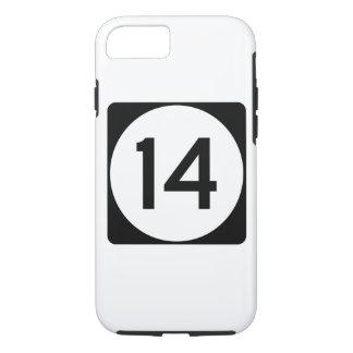 Weg 14 van de Mississippi iPhone 7 Hoesje