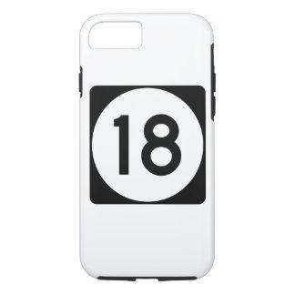 Weg 18 van de Mississippi iPhone 7 Hoesje