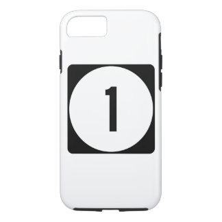 Weg 1 van de Mississippi iPhone 7 Hoesje