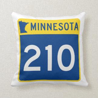 Weg 210 van de Boomstam van Minnesota Sierkussen