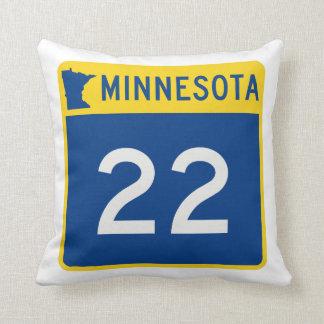 Weg 22 van de Boomstam van Minnesota Sierkussen