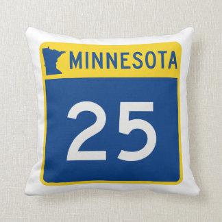 Weg 25 van de Boomstam van Minnesota Sierkussen
