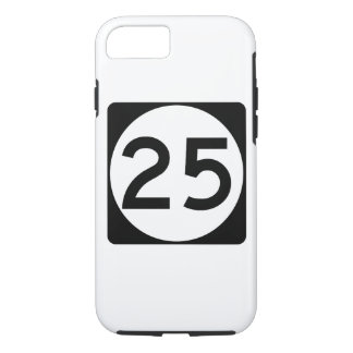 Weg 25 van de Mississippi iPhone 7 Hoesje