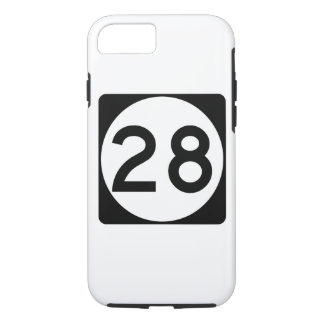 Weg 28 van de Mississippi iPhone 7 Hoesje