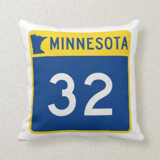 Weg 32 van de Boomstam van Minnesota Sierkussen