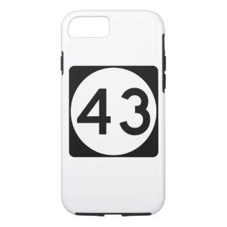 Weg 43 van de Mississippi iPhone 7 Hoesje