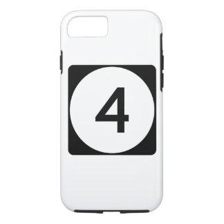 Weg 4 van de Mississippi iPhone 7 Hoesje