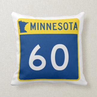 Weg 60 van de Boomstam van Minnesota Sierkussen