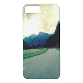 Weg aan de Oostenrijkse Alpen iPhone 7 Hoesje