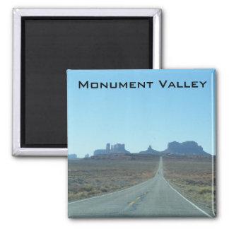 Weg aan de Vallei van het Monument Magneet