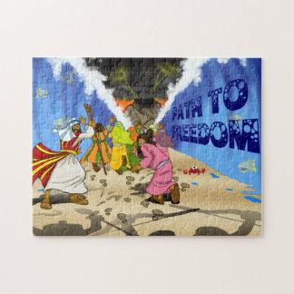 Weg aan Vrijheid | Raadsel van het Verhaal van de Puzzel