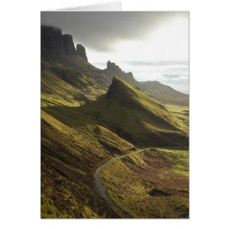 Weg die Quiraing, Eiland stijgen van Skye, Briefkaarten 0