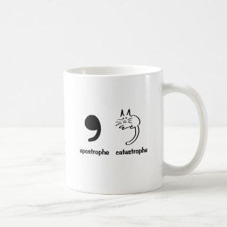 weglatingsteken catastrofe koffiemok
