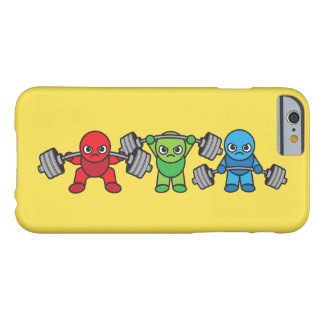 Weightlifting - Hurkzit, Pers, Deadlift - Kawaii Barely There iPhone 6 Hoesje