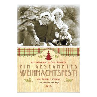 Weihnachten Foto-Karte Grußkarte Kaart