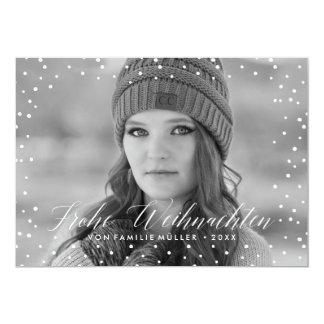 Weihnachten Schnee   Weihnachtskarte Kaart