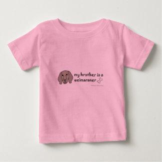 weimaraner baby t shirts