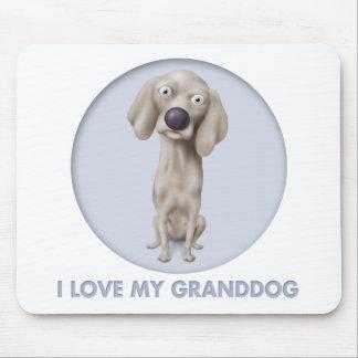 Weimaraner Granddog Muismatten