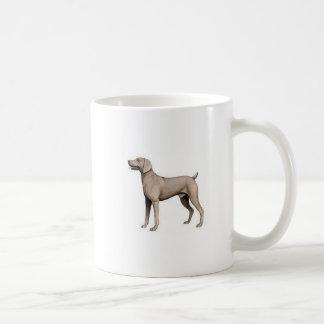 Weimaraner Koffiemok