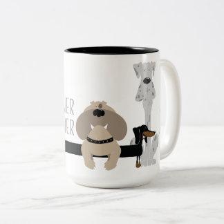 Weiner Inbetweener Tweekleurige Koffiemok