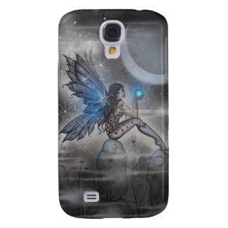 Weinig Blauw het Gloeien Art. van de Fantasie van Galaxy S4 Hoesje
