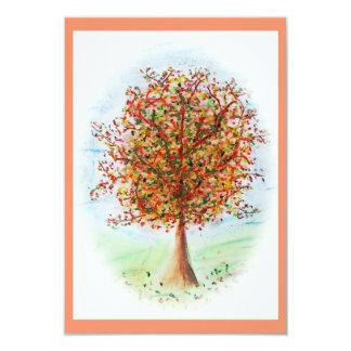 Weinig boom 8,9x12,7 uitnodiging kaart