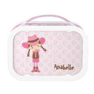 Weinig Donkerbruine {roze} Veedrijfster Lunchbox