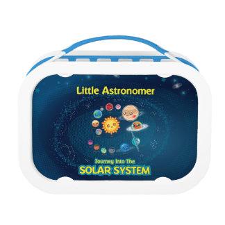 Weinig Doos van de Lunch van de Astronoom Blauwe Lunchbox