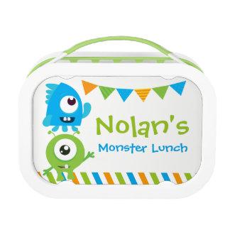Weinig doos van de Lunch van het Monster, de doos Lunchbox