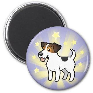 Weinig Hefboom Russell Terrier van de Ster Ronde Magneet 5,7 Cm