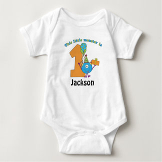 Weinig Kinder 1st Gepersonaliseerde Verjaardag van T Shirt