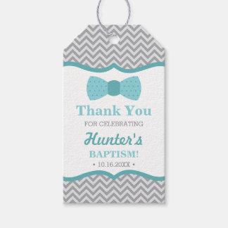 Weinig Man dankt u etiketteert, Grijze Aqua, Cadeaulabel