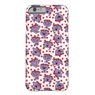 Weinig Misser Bad   het Rode Patroon van de Stip Barely There iPhone 6 Hoesje