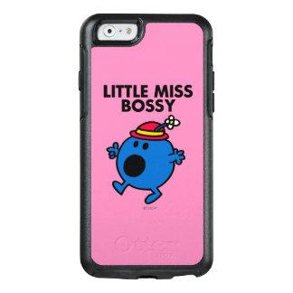 Weinig Misser Bossy   het Zwarte Van letters OtterBox iPhone 6/6s Hoesje