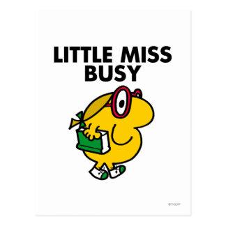 Weinig Misser Busy | het Lezen Tijd Briefkaart