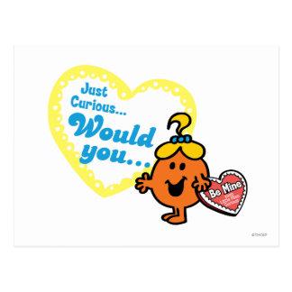 Weinig Misser de Curious Wens van de Valentijnsdag Briefkaart