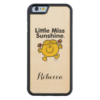 Weinig Misser   Kleine Misser Sunshine is een Esdoorn iPhone 6 Bumper Hoesje