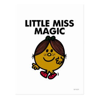 Weinig Misser Magic | het Zwarte Van letters Briefkaart