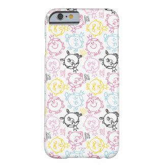 Weinig Misser Princess   het Mooie Patroon van Barely There iPhone 6 Hoesje