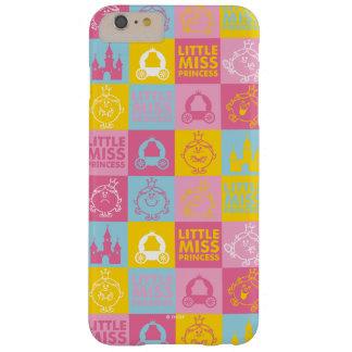 Weinig Misser Princess   het Mooie Patroon van de Barely There iPhone 6 Plus Hoesje