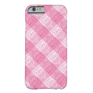Weinig Misser Princess   Mooie in Roze Patroon Barely There iPhone 6 Hoesje