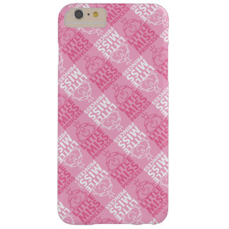 Weinig Misser Princess   Mooie in Roze Patroon Barely There iPhone 6 Plus Hoesje