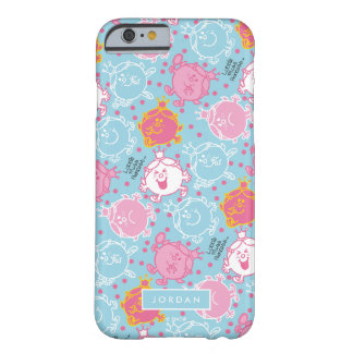 Weinig Misser Princess   Mooie Roze & Blauw Barely There iPhone 6 Hoesje