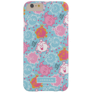 Weinig Misser Princess   Mooie Roze & Blauw Barely There iPhone 6 Plus Hoesje