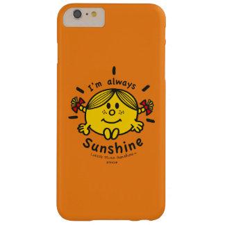 Weinig Misser Sunshine   ben ik altijd Zonneschijn Barely There iPhone 6 Plus Hoesje