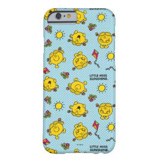 Weinig Misser Sunshine   het Blauwgroen Patroon Barely There iPhone 6 Hoesje