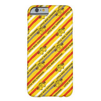 Weinig Misser Sunshine   het Rode, Gele Patroon Barely There iPhone 6 Hoesje