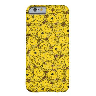 Weinig Misser Sunshine   Patroon van de Glimlachen Barely There iPhone 6 Hoesje